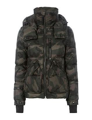 Jetset Camo Puffer Jacket
