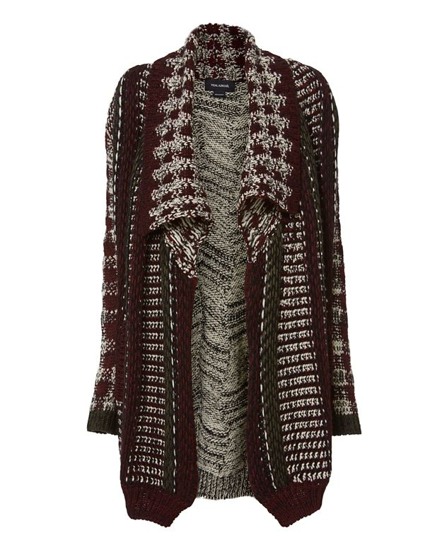 Yigal Azrouel Patchwork Cardi