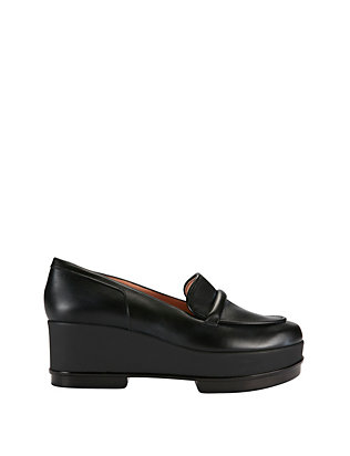 Robert Clergerie Yoko Slip On Flatform Loafer