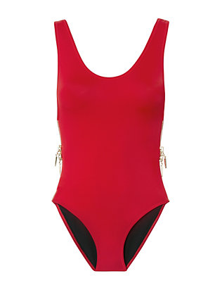 Zissou Side Zip One Piece Swimsuit