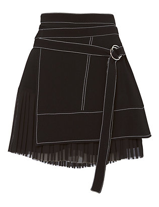 Cinq à Sept Misha Pleated Skirt